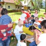 Pergola Kammern – Gemeinsame Schaffung eines Raums für Begegnung und Integration in der Natur